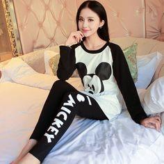 Pamuk Pijama Entero Pijama Kadınlar Için Pijama Feminino Femme Pijama Ev Giyim kadın Pijama Pijama Kadınlar Pigiami