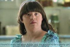 Jamie Brewer played Addie Langdon on American Horror Story: Murder House