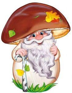 Fotografie Mushroom Crafts, Mushroom Art, Baby Animals, Cute Animals, Character Design Animation, Disney Cartoons, Fall Halloween, Rock Art, Cute Art