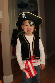 Pirate's Vest by sewcrazycollection on Etsy, $25.00