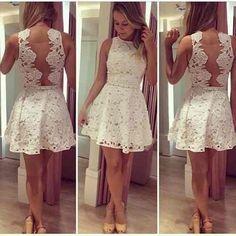Post de hoje: Dicas Como Usar Vestido Branco Curto Modelo Guipir #vestidosguipir  Veja link:  http://vestidoscurtos.net/como-usar-vestido-branco-curto-guipir/