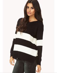 Easy striped sweater - forever 21