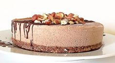 Don't miss out on this raw vegan cake that tastes like Nutella!