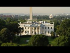 White House Curator Bill Allman explains how the effects of the White House Fire of 1814 are still evident today in this video. America Washington, George Washington, Inside The White House, Best Places To Live, White Paints, Paris Skyline, United States, Fire, Mansions