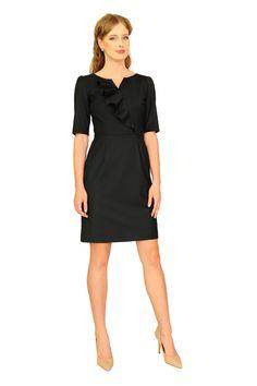 782df1d891 no 144 laura black dress - LaRobe - Sukienki koktajlowe