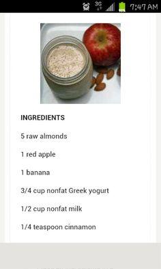 Harley Pasternak breakfast smoothie