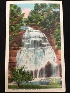 Early 1900s Chequaga/Shequaga Falls, Montour Falls, NY postcard