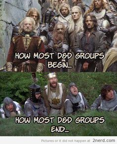 "30 Delightfully Nerdy Dungeons And Dragons Memes - Funny memes that ""GET IT"" and want you to too. Get the latest funniest memes and keep up what is going on in the meme-o-sphere. Dnd Funny, Dungeons And Dragons Memes, Dragon Memes, Funny Memes, Hilarious, Nerd Humor, Intj Humor, Monty Python, D 20"