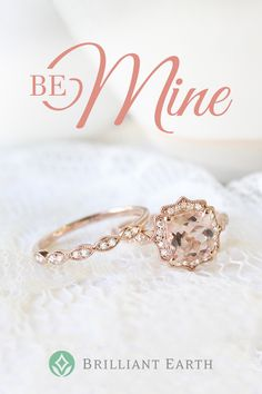 Browse our collection of rose gold bridal sets to find the perfect matching engagement ring and wedding ring set for her. Rose gold is a lustrous alloy of gold and copper, which gives it a distinct warm hue that complements modern and vintage-inspired rings.