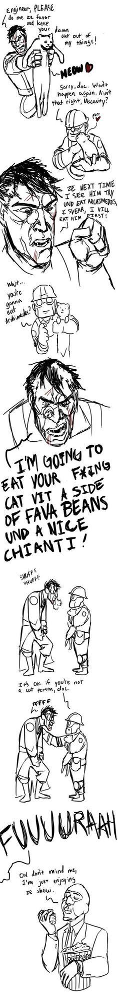 Die Katze by infamously-dorky