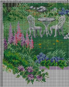 Summer comes gingerbread pattern funny cross stitch cottage Baby Cross Stitch Kits, Cat Cross Stitches, Cross Stitch House, Simple Cross Stitch, Modern Cross Stitch, Cross Stitch Designs, Cross Stitch Embroidery, Cross Stitching, Needlepoint Patterns