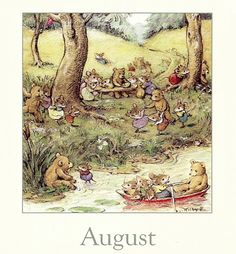 Happy days of August!
