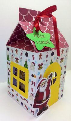 Caixa Milk Papai Noel