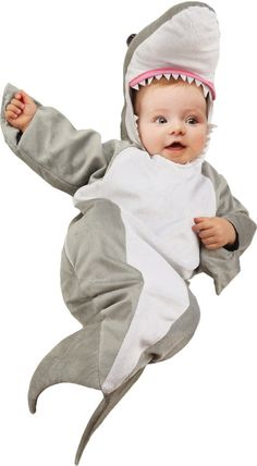 baby costume: shark bunting-0-6 months                                                                                                                                                     More