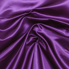 Satin Solid Purple Fabric