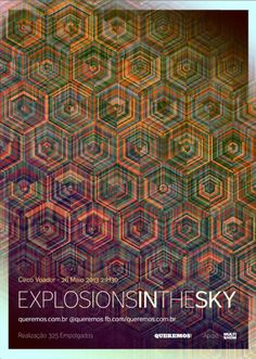 Explosions In The Sky (May 2013) Art by Simon C Page: http://excites.co.uk/