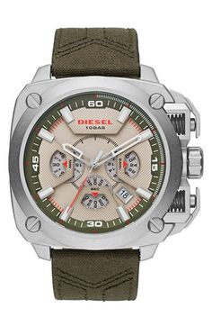 DIESEL® 'BAMF' Chronograph Watch, 58mm