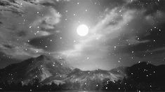 gif beauty art Black and White anime beautiful sky landscape b&w moon night edit artwork monochrome clouds forest scenery cloud anime gif anime scenery anime monochrome Artwork Fantasy, Fantasy Art, Aesthetic Gif, Aesthetic Backgrounds, Japan Kawaii, Black And White Gif, Anime Monochrome, Future Wallpaper, Forest Scenery