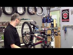 How to shift a 7/21 speed bicycle - YouTube
