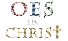 OES in Christ Bling Shirt