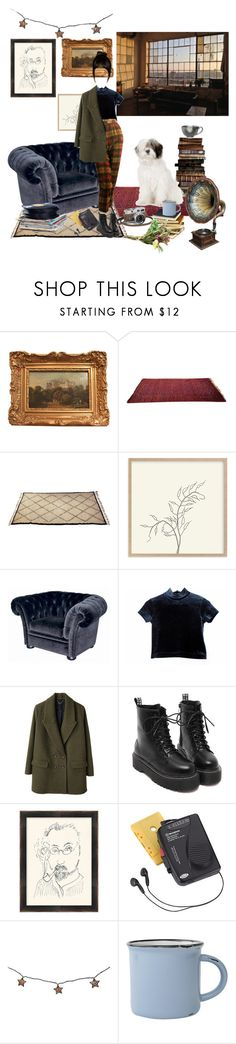 """the writer's place"" by coffee-and-jazz ❤ liked on Polyvore featuring Hurley, CHESTERFIELD, Rachel Comey, Kate Spade, Westinghouse, Threshold, Public Library, canvas, Hermès and Juliska"