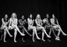Team USA Volleyball  They're showing us what they're working with! Before heading to the 2012 London Olympic games, the U.S. Women's National Volleyball Team stripped down for ESPN.