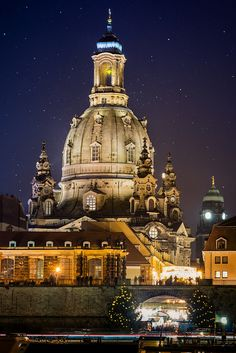 Frauenkirche Church Of Our Lady Dresden via flickr