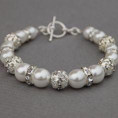 Pearl Jewelry, Beaded Jewelry, Jewelry Bracelets, Jewelery, Fine Jewelry, Pearl Bracelets, Wedding Day Jewelry, Bridal Jewelry, Bridal Accessories