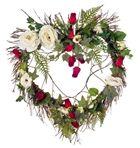 Orchid Island Seashell Wreath