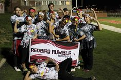 Redbird Rumble!  Think you have what it takes to be the champs?  So does everyone else.  Sign up during homecoming week!