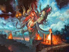 Cool Art: 'Xenagos Scorn' by Lucas Graciano
