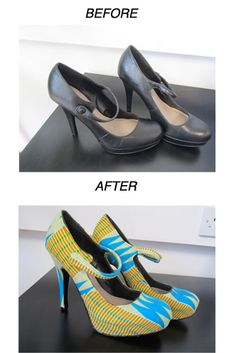Shoe Up-cycling workshop