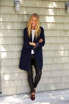 My favorite thing ever! Looks Street Style, Casual Street Style, Gwyneth Paltrow, Sarah Harris, Everyday Fashion, Autumn Winter Fashion, Style Icons, Sofia Coppola, Celebrity Style