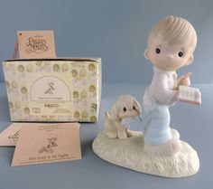 Vintage Precious Moments E9253 The End Is In by TheLogChateau