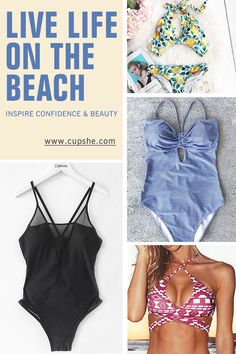 Live life on the beach~ Short Shipping Time & Easy Return + Refund! High quality & Better service! Want something different to wear for your spring break? Our hot swimsuit is a perfect fit for your beach parties! Check more at Cupshe.com