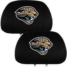 Jacksonville Jaguars NFL Football 2-Pack Auto Car Truck Headrest Covers 16 Draft #TeamPromark #JacksonvilleJaguars