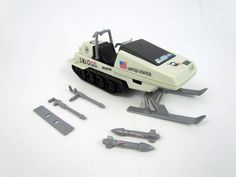 GI Joe Polar Battle Bear skimobile Roll Bar ininterrompue partie Motoneige ARAH
