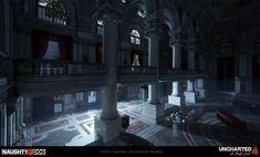 ArtStation - Uncharted 4 - Auction (Night), Simon Craghead