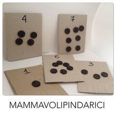 pari e dispari #Montessori