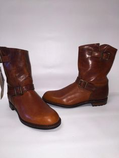 c5da074cbd UGG JONESBORO CHESTNUT CHROMEXCEL LEATHER BOOTS MENS US 10 1 2 NEW~ MADE IN  USA  UGGAUSTRALIA  JONESBORO