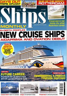 Ships Monthly (July 2016)