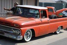 Bringing you the best in classic muscle cars and other exceptional automobiles Custom Chevy Trucks, Vintage Pickup Trucks, Classic Pickup Trucks, C10 Trucks, Custom Cars, Hot Rod Pickup, Old Pickup, Chevy C10, Chevy Pickups