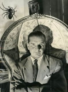 Charles Addams, creator of 'The Addams Family'.
