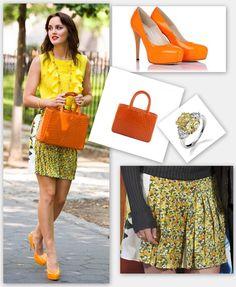 preppy look gossip girl blair fashion streetstyle color