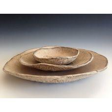 Ceramic Dinner plates by Christiane Barbato  Please visit: www.bluedoorceramics.com