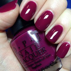 ABSOLUTELY love this color! Sohpisticated and classy!  OPI Houston We Have A Purple