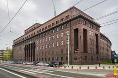 Police building complex (1920's), Wroclaw, Poland