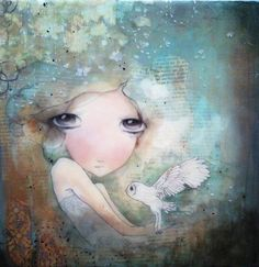 limited edition fine art print mounted on wood by kendrabinney, $30.00