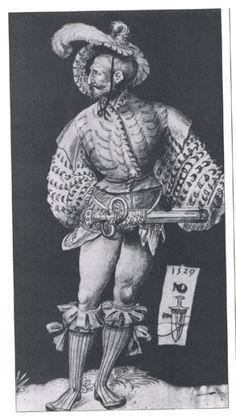 Landesknecht by Niklaus Manuel Deutsh. Pants are overrated. Haiii ladiezzzz. ;)