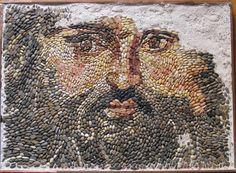 Stone Mosaic, Green Man, Athens, Museum, Istanbul Turkey, Bird, Mosaics, Palace, Floor